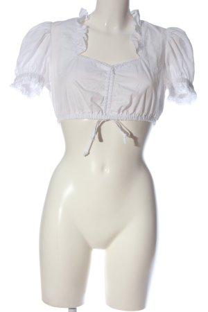 Esmara Blouse bavaroise blanc style décontracté