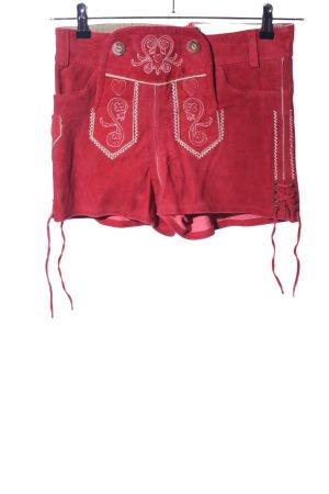Esmara Trachtenhose rot Casual-Look