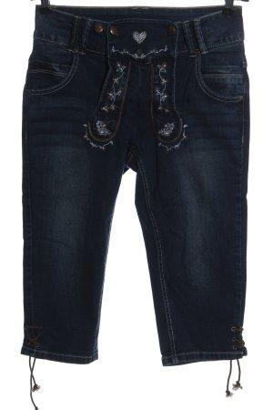 Esmara Pantalon bavarois bleu style décontracté