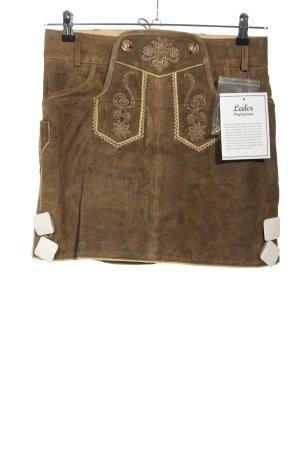 Esmara Falda folclórica marrón elegante