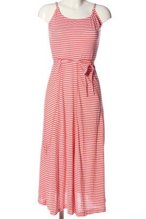 Esmara Trägerkleid rot-weiß Allover-Druck Casual-Look