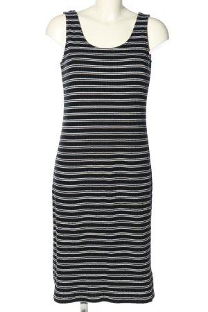Esmara Trägerkleid schwarz-weiß Streifenmuster Casual-Look