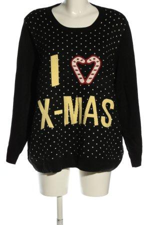 Esmara Christmasjumper black spot pattern casual look