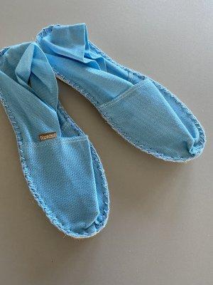 Espadrij 39 blau Schuhe Sandalen
