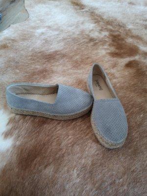 Espadrij Alpargatas gris claro-beige