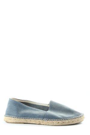 Espadrij Espadrille Sandals blue-brown casual look