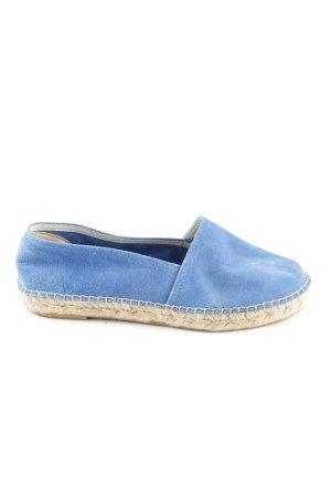 Espadrij Alpargatas azul look casual