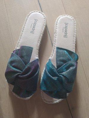 Espadrij Espadrille sandalen veelkleurig