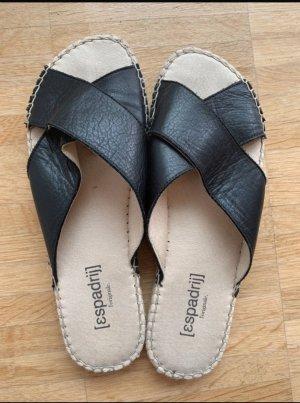 Espadrij schwarz Sandalen 37 Espadrilles