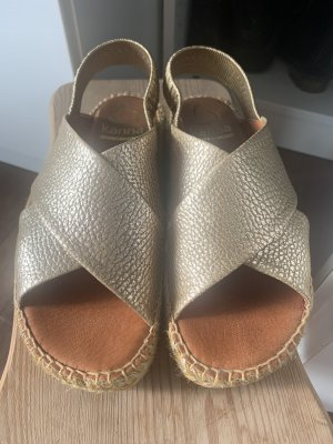 Kanna Espadrille Sandals gold-colored