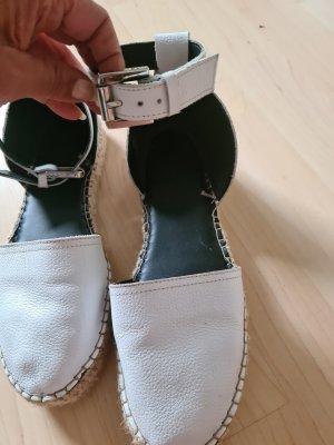 no name Espadrille sandalen wit