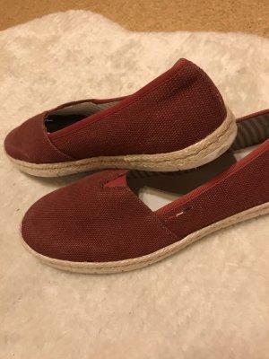 Rieker Zapatos sin cordones carmín