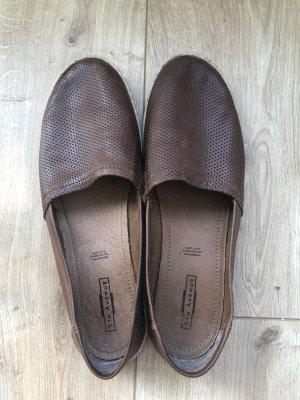 5th Avenue Espadrille sandalen bruin-cognac