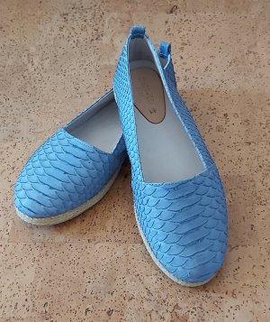 Espadrillas azzurro
