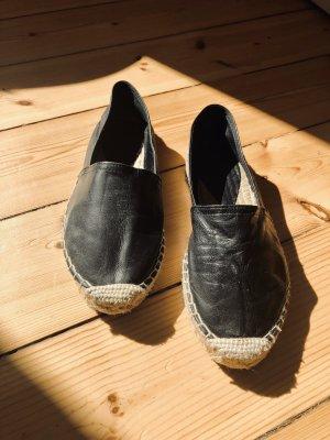 Espadrilles aus Leder, handmade in Spain