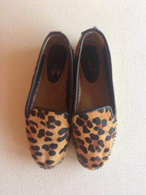 Arezzo Schoenen zwart-zandig bruin Leer