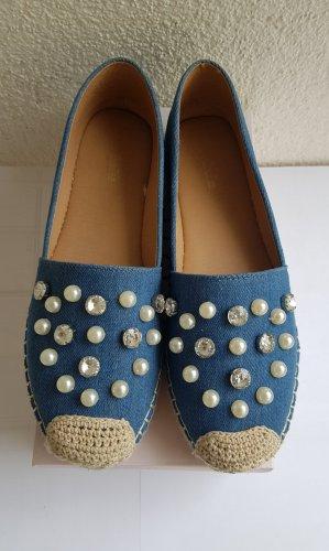 DeeZee Espadrille Sandals blue-cornflower blue