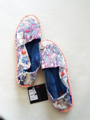 New Yorker Espadrille sandalen veelkleurig