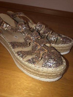 Mas o menos Espadrille Sandals rose-gold-coloured
