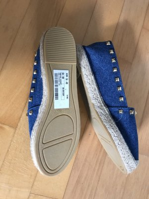 Espadrilles Größe 40 Jeansblau