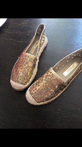 Arezzo Espadrille Sandals gold-colored