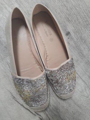 VIGUERA Espadrille Sandals gold-colored-cream