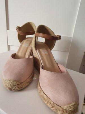 Hennes & Mauritz Zapatos de cuña multicolor