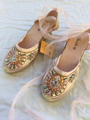 Espadrille sandalen veelkleurig