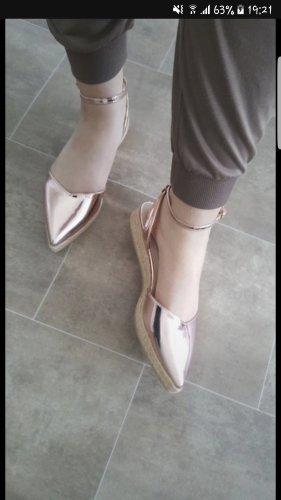 Asos Espadrille Sandals rose-gold-coloured