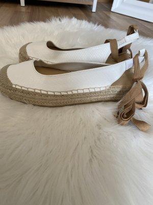 Just Espadrille blanc-chameau