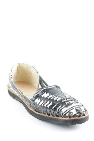 Espadrilles-Sandalen mehrfarbig