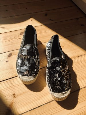 Superdry Moccasins black-silver-colored