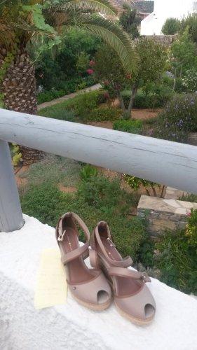 Tommy Hilfiger Espadrille Sandals beige-bronze-colored