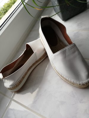 Lumberjack Sailing Shoes white-sand brown leather