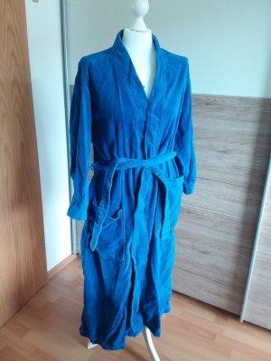 / Peignoirs de bain bleu acier-bleuet