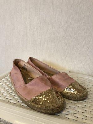 H&M Espadrille sandalen roze
