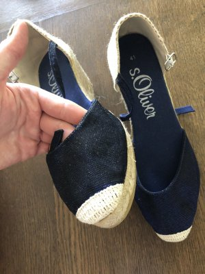 Espadrille Sandals blue