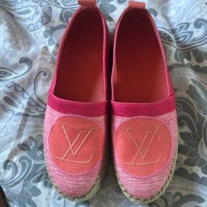 Louis Vuitton Zomerschoenen met hak roze
