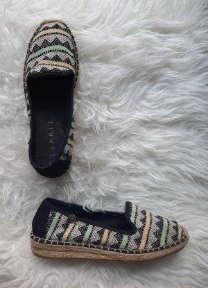 Esprit Espadrille sandalen veelkleurig