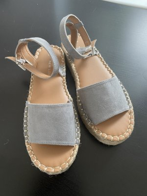 New Look Espadrille Sandals silver-colored