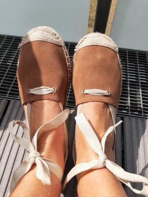 United Colors of Benetton Espadrille sandalen bruin