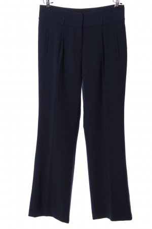 Espresso Baggy Pants blau Business-Look