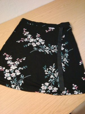Espresso Wraparound Skirt black