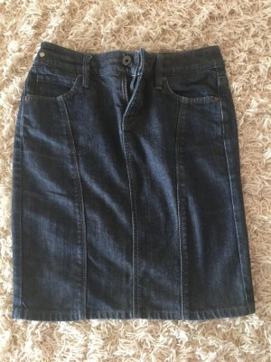 edc by Esprit Gonna di jeans blu scuro