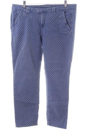 Esprit 3/4-Hose blau Allover-Druck Casual-Look