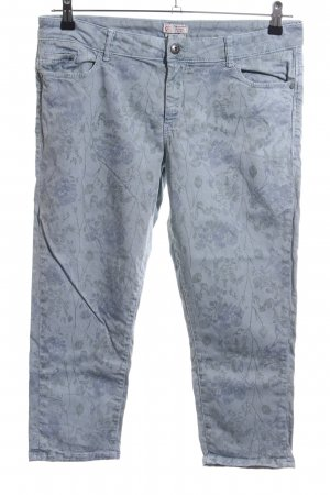 Esprit 3/4-Hose Allover-Druck Casual-Look