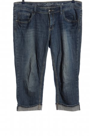 Esprit Pantalone a 3/4 blu stile casual
