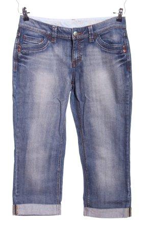 Esprit 3/4-jeans blauw casual uitstraling