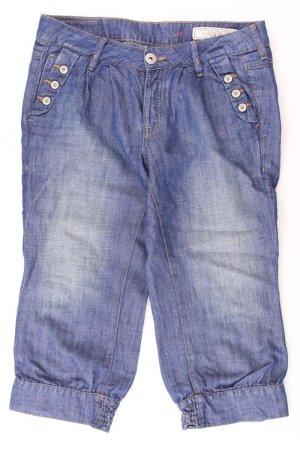 Esprit 3/4 Length Jeans blue-neon blue-dark blue-azure cotton