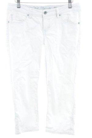 Esprit Jeansy 3/4 biały W stylu casual